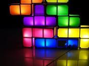 Test d'une lampe tetris