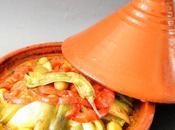 Tajine berbère légumes