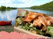 Recette salade saumon, basses calories, sans gluten