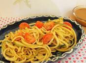 Spaghettis courgette vinaigrette sans huile (Vegan)