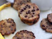 Cookies( vegan) sans gluten pépites chocolat