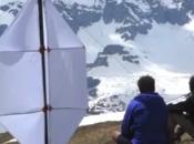 Vidéo éolienne portable
