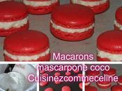 Macarons mascarpone coco