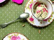 Kulfi Malaï glace indienne pistache, l'amande, cardamome avec soupçon d'eau rose! recette sans sorbetière