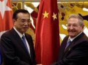 Chine Cuba renforcent leur coopération