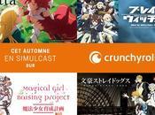 Quatre nouveaux animés simulcast annoncés chez Crunchyroll
