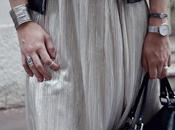 #189 petite jupe argentée