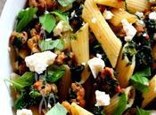 """~Pâtes pan"""" saucisse italienne épinards~"""