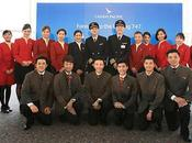 Cathay pacific passagers rendent dernier hommage boeing 747-400