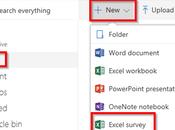 Excel: Créez sondages avec Excel Surveys