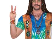 Déguisement Tshirt Hippie Homme