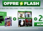 Plan Console Xbox Kinect +Dance Central Rare Replay Rise Tomb Raider Halo Gears Ultimate 299.99€