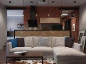 appartement d'étudiant totalement rénové dans style industriel