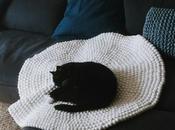 tapis boules laine Sukhi