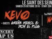 KEVO guests font vibrer Saint Seins Samedi 0ctobre