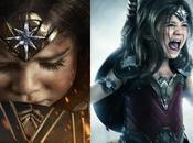 Wonder Woman, réalise costume pour fille couper souffle
