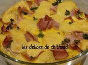 omelette four (restes frigo)