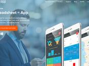 viens créer première application mobile partir d'Excel