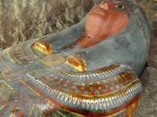 ancien sarcophage appartenant homme haut rang découvert près Louxor