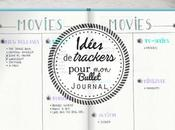 Bullet Journal idées trackers