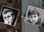 Partie championnat monde d'échecs Karjakin -1/2 Carlsen
