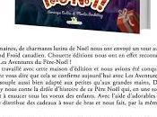 Critique littéraire magazine Bazar Littéraire pour aventures Père Noël