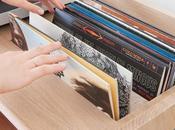 Portée, meuble pour vinyles Estis