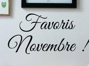 Favoris Novembre 2016