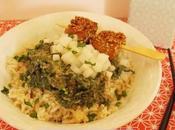 Brochettes Tofu Radis noir l'asiatique (Vegan)