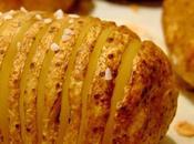 Pommes terre Hasselback