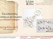Calligraphie contemporaine colapen