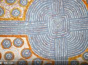 pointillisme dans l'art aborigène dot-painting)