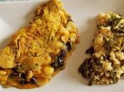 Omelette Ocas Pérou Boulgour Kale