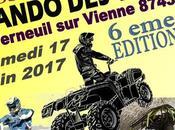 édition Rando Vignes Tourisme Pneu Vert (87), samedi juin 2017 Verneuil Vienne