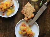 Foie gras, chutney mangue épices