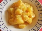 Courge sauce crémeuse moutardée sans crème (Vegan)