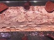 Bûche chocolat crème marron thermomix sans