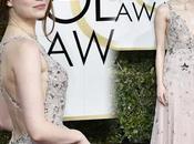 Mieux habillée Golden Globes 2017 Emma Stone Claire tapis rouge