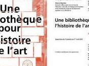 exposition bibliothèque pour l'histoire l'art Janvier Avril 2017