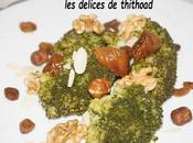 salade brocolis fruits secs