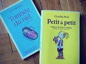 """""""Tombée Nid"""", """"Petit Petit"""" Clotilde Noël), livres poussent réfléchir l'accueil trisomie handicap."""