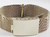Bracelet maille milanaise
