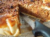 Tarte abricots secs amandes