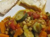Tajine poisson épices légumes saison mijoteuse