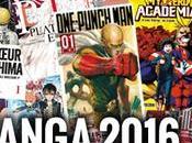 [Dossier] Bilan l'année manga 2016 tops, flops, l'état marché…