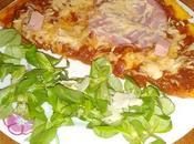 chemin entre l'omelette pizza