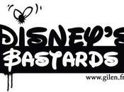 personnages Disney déglingués l'artiste peintre Gilen
