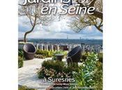 VERT EXPO 13ème édition Salon Jardins Seine concours paysager «Jardin d'ombre lumière» Avril 2017 terrasse Fécheray Suresnes (92)