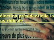 510ème semaine politique: l'élection présidentielle plus ridicule