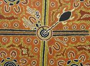 Saint Valentin histoire d'amour tabou racontée dans peinture aborigène